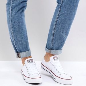 NWT White Converse Chuck Taylor All Star Sneakers